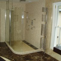 Mosaic Tiled Wetroom