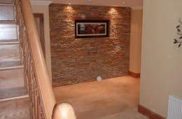 Crema Marfil Hallway Tiling