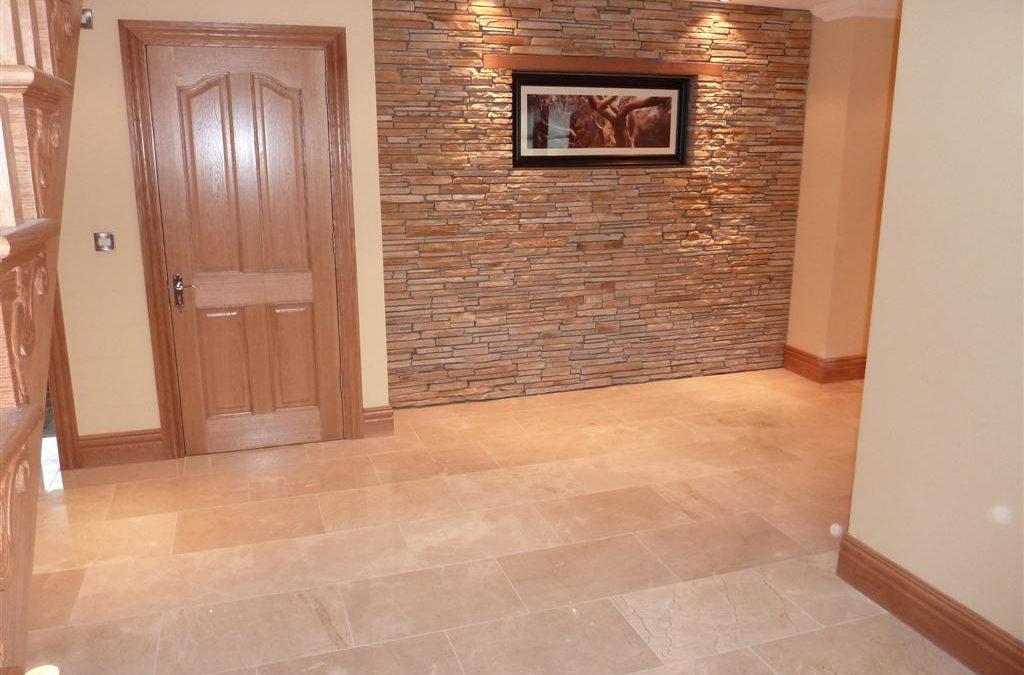 Crema Marfil Hallway Tiles