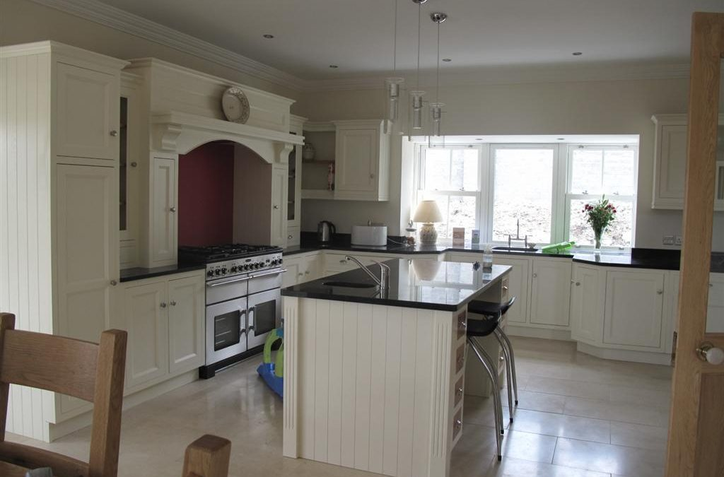 Honed Marble in a Wicklow Kitchen