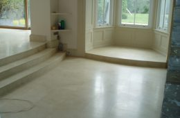 Marble Steps in Kitchen