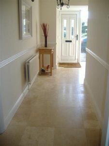 Travertine Hallway