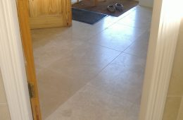 Travertine Utility Room