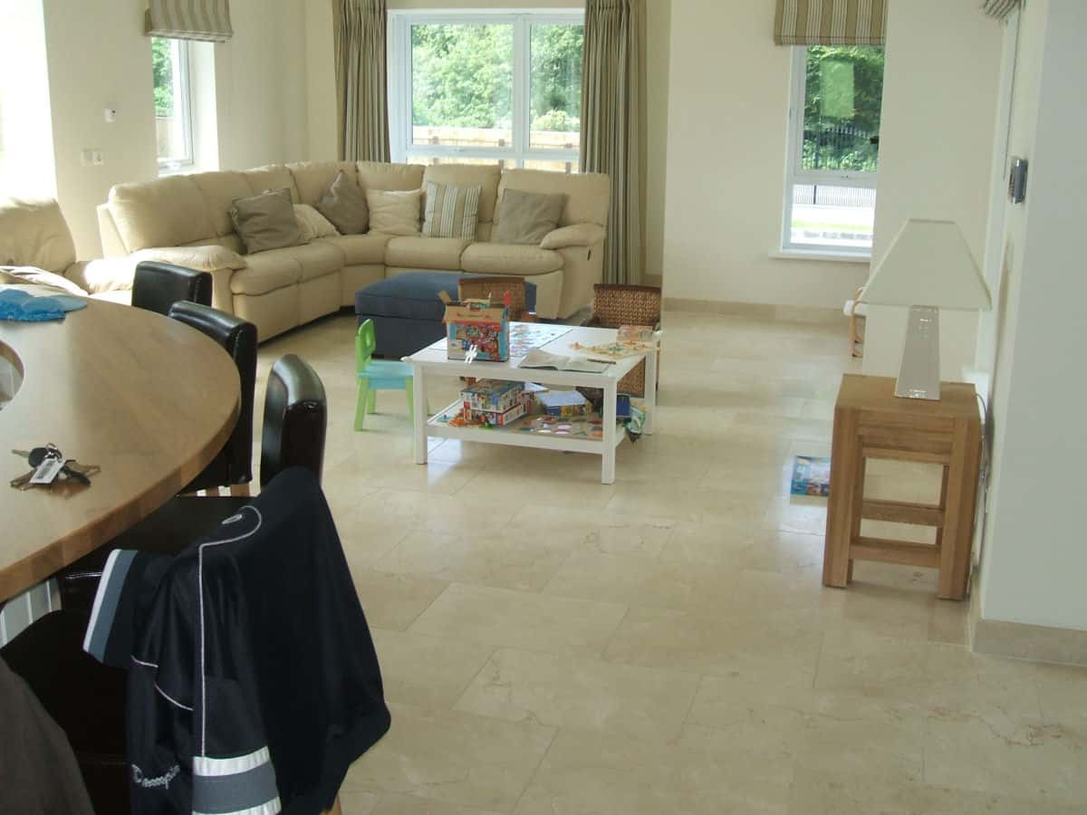 Kitchen and Family Room Tiles