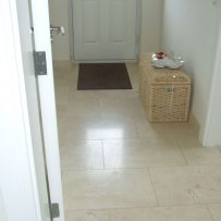 Tiled Back Hall Floor