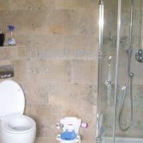 Jura Limestone Tiled Bathroom