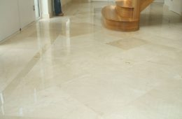 Crema Marfil Polished Marble Hall