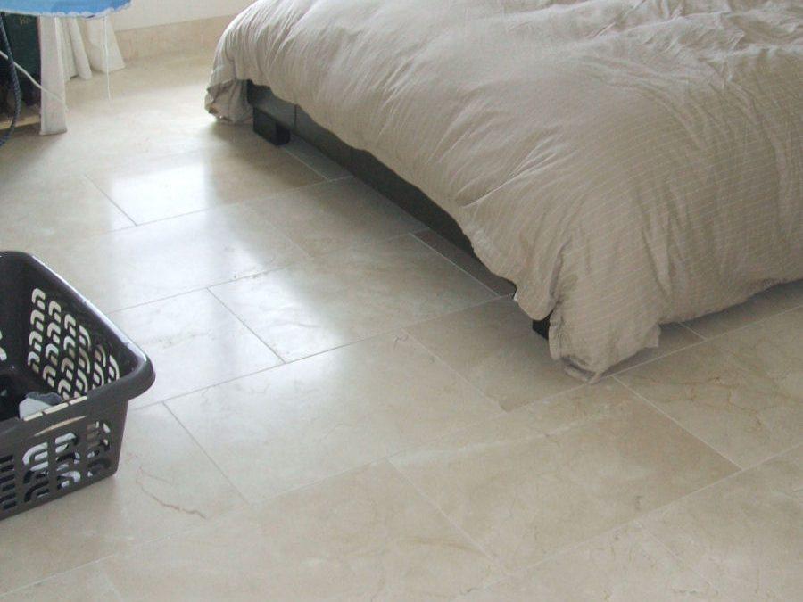 Marble Bedroom Floor