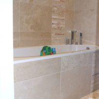 Marble and Mosaic Bathroom