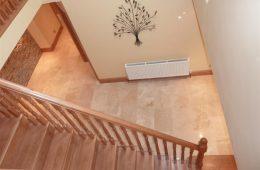 Marble Hallway Tiling