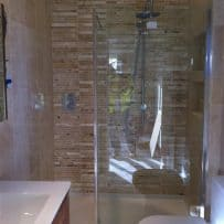 Travertine Mosaic Tiler