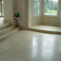 Floor Tiling in Marble