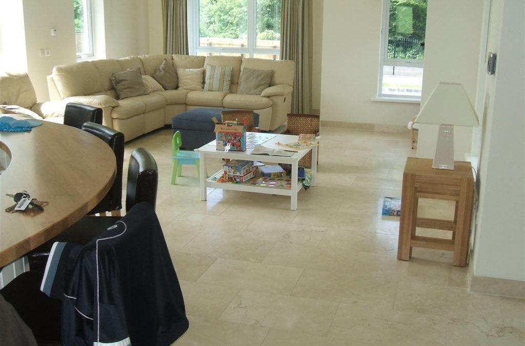 Floor Tiling Family Room Floor