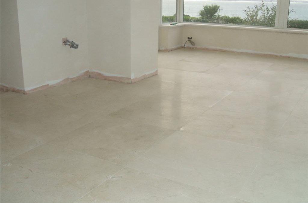 Floor Tiling Sunroom Floor