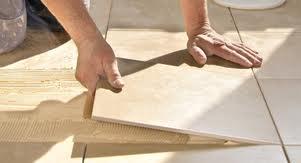 Im a tiler tiling in Sandymount