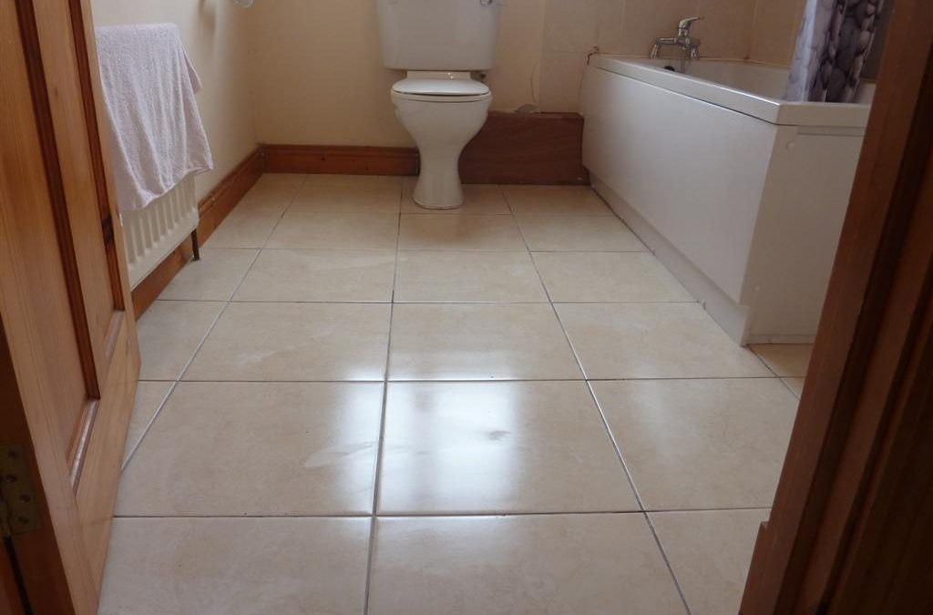 Sanitary ware re-fitted
