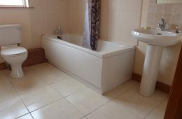 New Bath fitted & bathroom completed