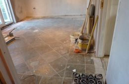 Hall & Kitchen Tiling2