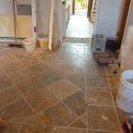 Hall & Kitchen Tiling3