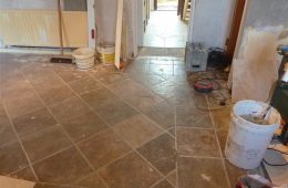 Hall & Kitchen Tiling3