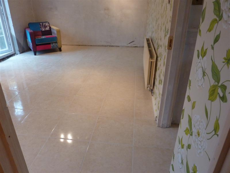 Hall & Kitchen Tiling5