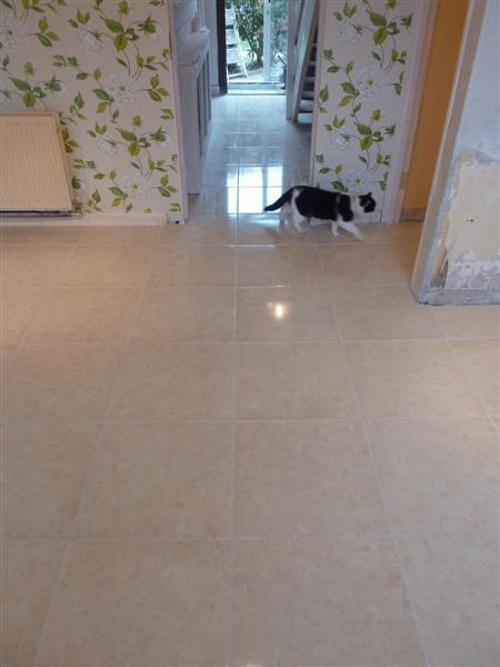 Hall & Kitchen Tiling7