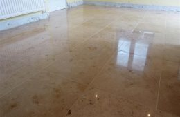 Jura Limestone Kitchen floor