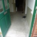 Hall before tiling