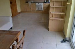 Tiling kitchen Floor 6
