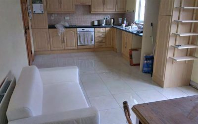 Tiling a Kitchen Floor in Portlaoise