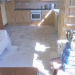 Tiling kitchen Floor 3