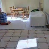 Tiling kitchen Floor 2