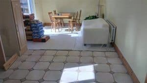 Kitchen Floor with old tiles 2