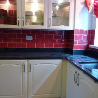 Red Subway tiles 6