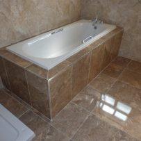 Tiling around a bath 2