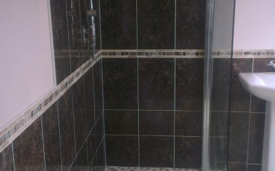 Leaking shower and leaking wetroom
