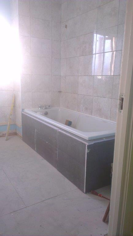 7 Tiling the walls