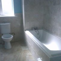 New bathroom suite & tiling in Kildare