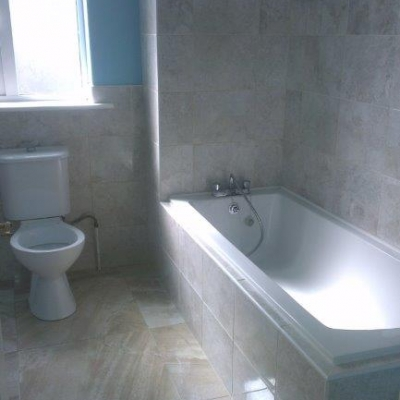 New bathroom suite & tiling in Kildare
