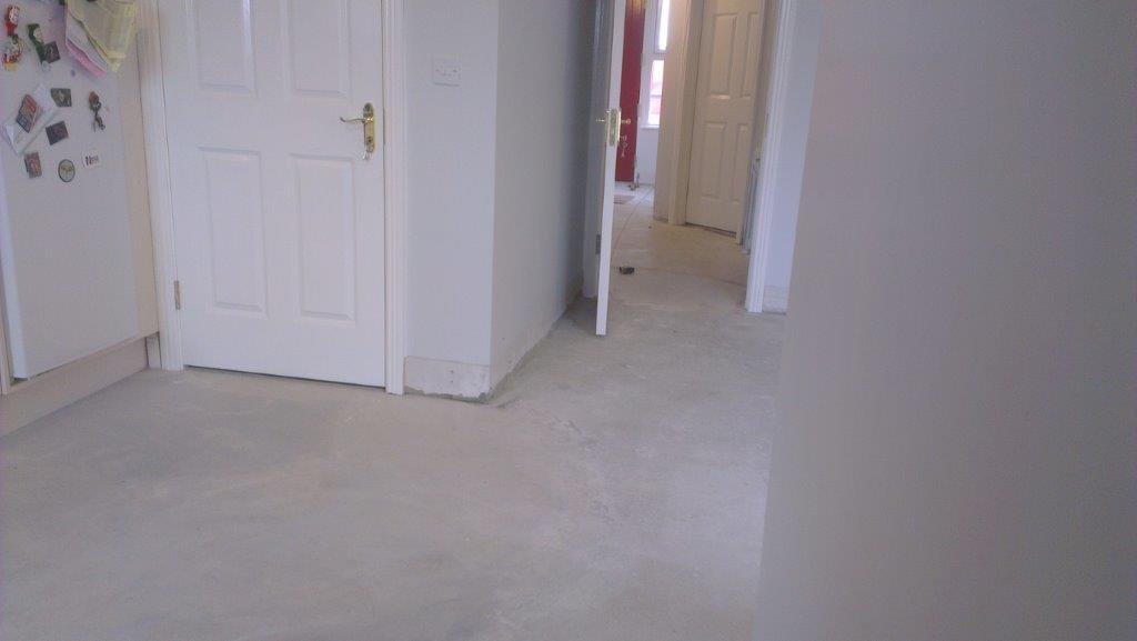 Kitchen & hall tiling in Nurney 10