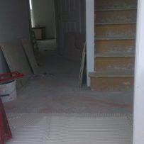 Kitchen & hall tiling in Nurney 7