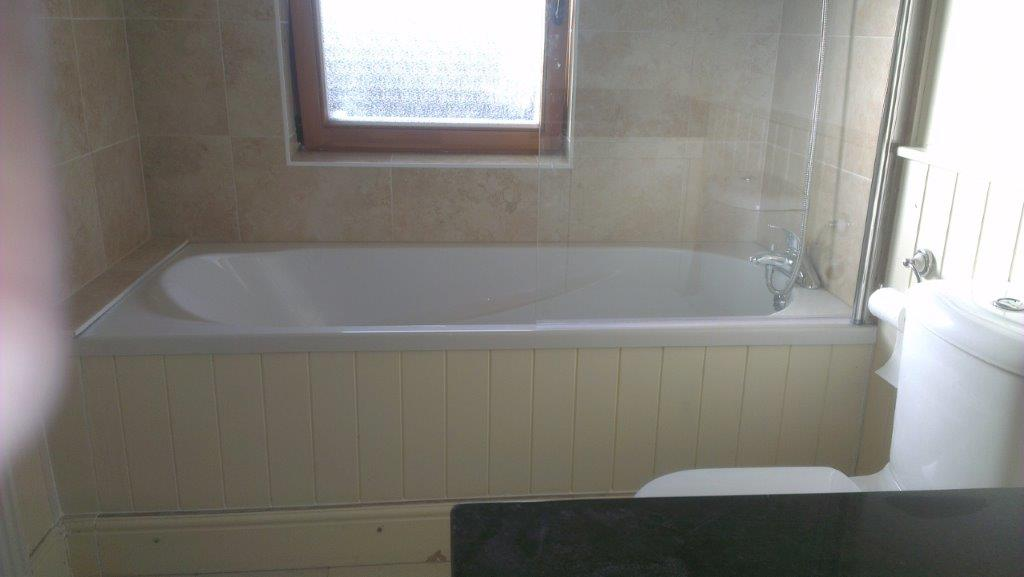 The Stables Kill bathroom tiling pictures 1