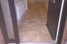 Belltree Park hall and floor tiling 1