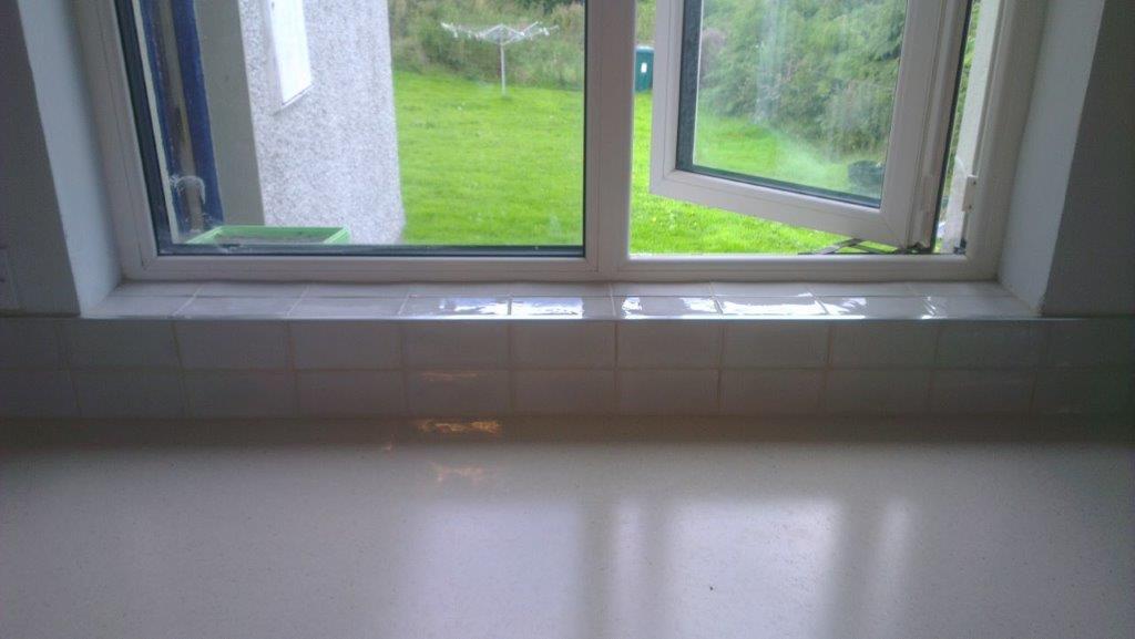 Windowboard tiled