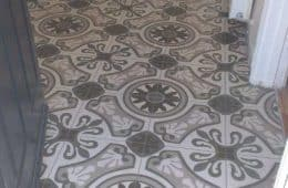 Pattern hall tiles in Rathcoole