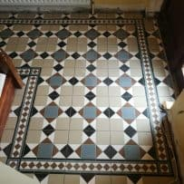 Pattern tiles in Durrow 2