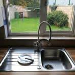 Kitchen & windowboard before tiling